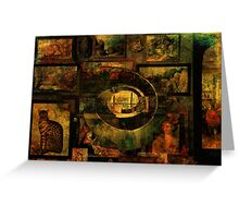 Cabinet of Curiosities Greeting Card