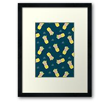 Pineapple Party V2 Framed Print