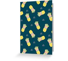 Pineapple Party V2 Greeting Card