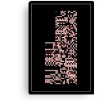 Pokemon Missingno. Red Version Canvas Print