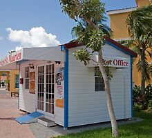 Post office in St Maarten by Keith Larby