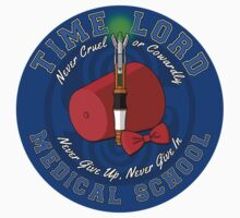 Time Lord Medical School 11 (Sticker) by DrRoger