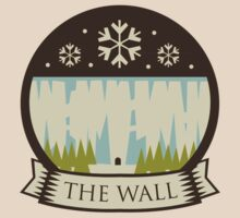Game Of Thrones - 'The Wall' vintage badge by housegrafton