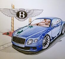 Bentley Continental GT by marcus71ltd