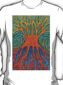 Jittery Tree  T-Shirt