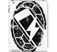 Turtle Power (black) iPad Case/Skin