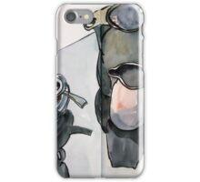 the monochrome breakfast iPhone Case/Skin