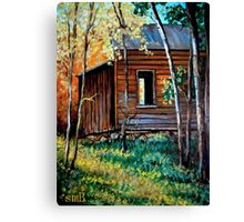 """The Old Bunkhouse"" Canvas Print"