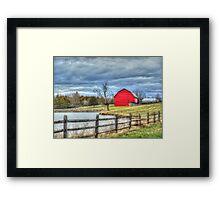 Farm Tree Framed Print