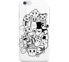 Doodle Kawaii iPhone Case/Skin