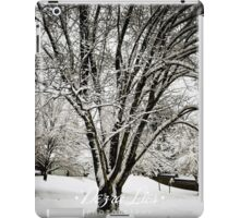 Frozen Tree iPad Case/Skin