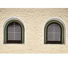 Finkenberg Windows Photographic Print