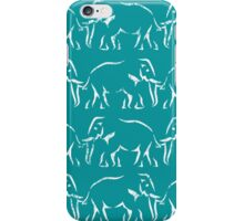 Elephant Train iPhone Case/Skin