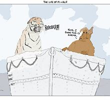 The Life of Pi + Alf by altanimus