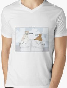 The Life of Pi + Alf Mens V-Neck T-Shirt