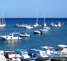 Marettimo Harbour_Sicily by Rosy Kueng