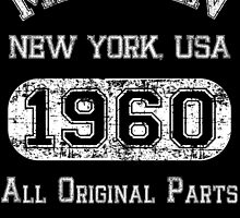made in new york usa 1960 all original parts by teeshoppy