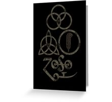 TRIQUETRA - the storm L Greeting Card