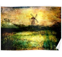Turning Windmill Poster
