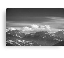 Zillertal Canvas Print