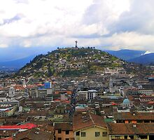 The Best View In Quito II by Al Bourassa