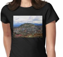 The Best View In Quito II Womens Fitted T-Shirt
