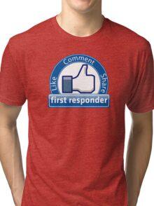 First Responder Tri-blend T-Shirt