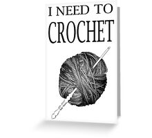 I need to Crochet Greeting Card