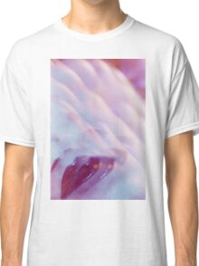Surrealist lips young lady surreal abstract analogue portrait Classic T-Shirt
