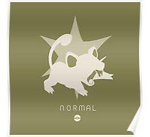 Pokemon Type - Normal Poster