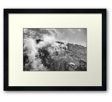An Afternoon On Penken #10 (Facing The Clouds) Framed Print