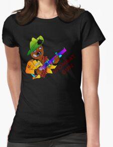 Wombat Gun Womens Fitted T-Shirt