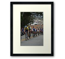 Levi Pulling Lance.............. Framed Print