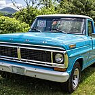 Classic Old Ford Pickup Truck by Edward Fielding