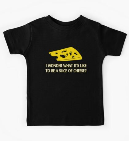 Slice Of Cheese Kids Tee