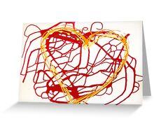 le vie del cuore Greeting Card