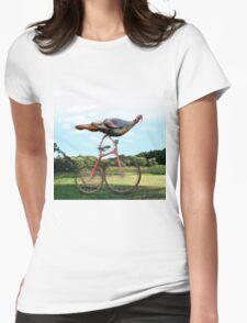 Lake Washington Turkey. Womens Fitted T-Shirt