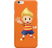 Lucas Super Smash Bros. for Wii U and 3DS iPhone Case/Skin