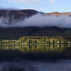 Lake Wanaka Sunrise Panorama by Will Hore-Lacy