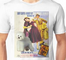 Bichon Frise Art - Love in the Afternoon - Ariane Movie Poster Unisex T-Shirt