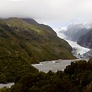 Franz Josef Glacier Panorama by Will Hore-Lacy
