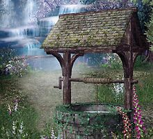 Wishing Well Waterfall by FantasyDesign