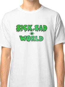Sick, Sad World (Green glitter) Classic T-Shirt