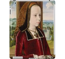 Jean Hey (called Master of Moulins), Margaret of Austria 1490 iPad Case/Skin