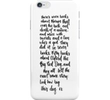 Clifford the dog iPhone Case/Skin