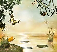 Butterfly Lake by FantasyDesign
