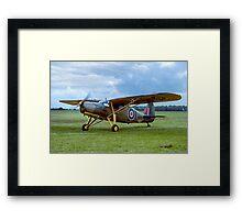 Fairchild 24R-46A Argus III HB751 G-BCBL Framed Print