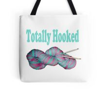 Totally hooked blue version Tote Bag