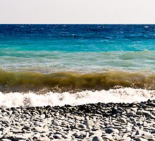 layer-cake-colors of the Mediterranean sea by GOSIA GRZYBEK