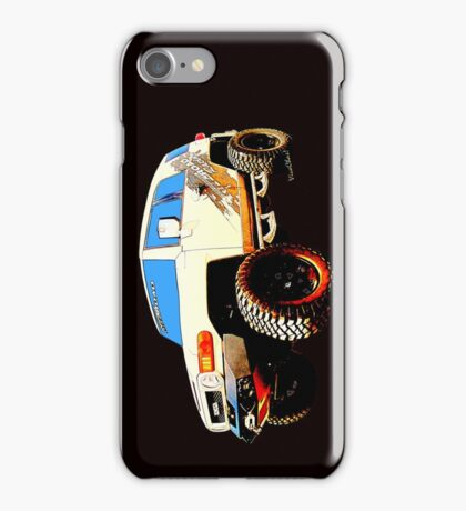 Toyota FJ Cruiser 4x4 Cartoon Panel from VivaChas iPhone Case/Skin